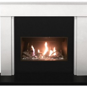 The Tasmin Marble Fireplace Suite