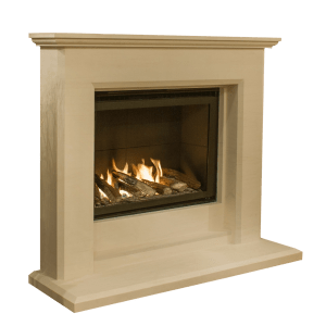 Regent Limestone High Efficiency Gas Fire Fireplace