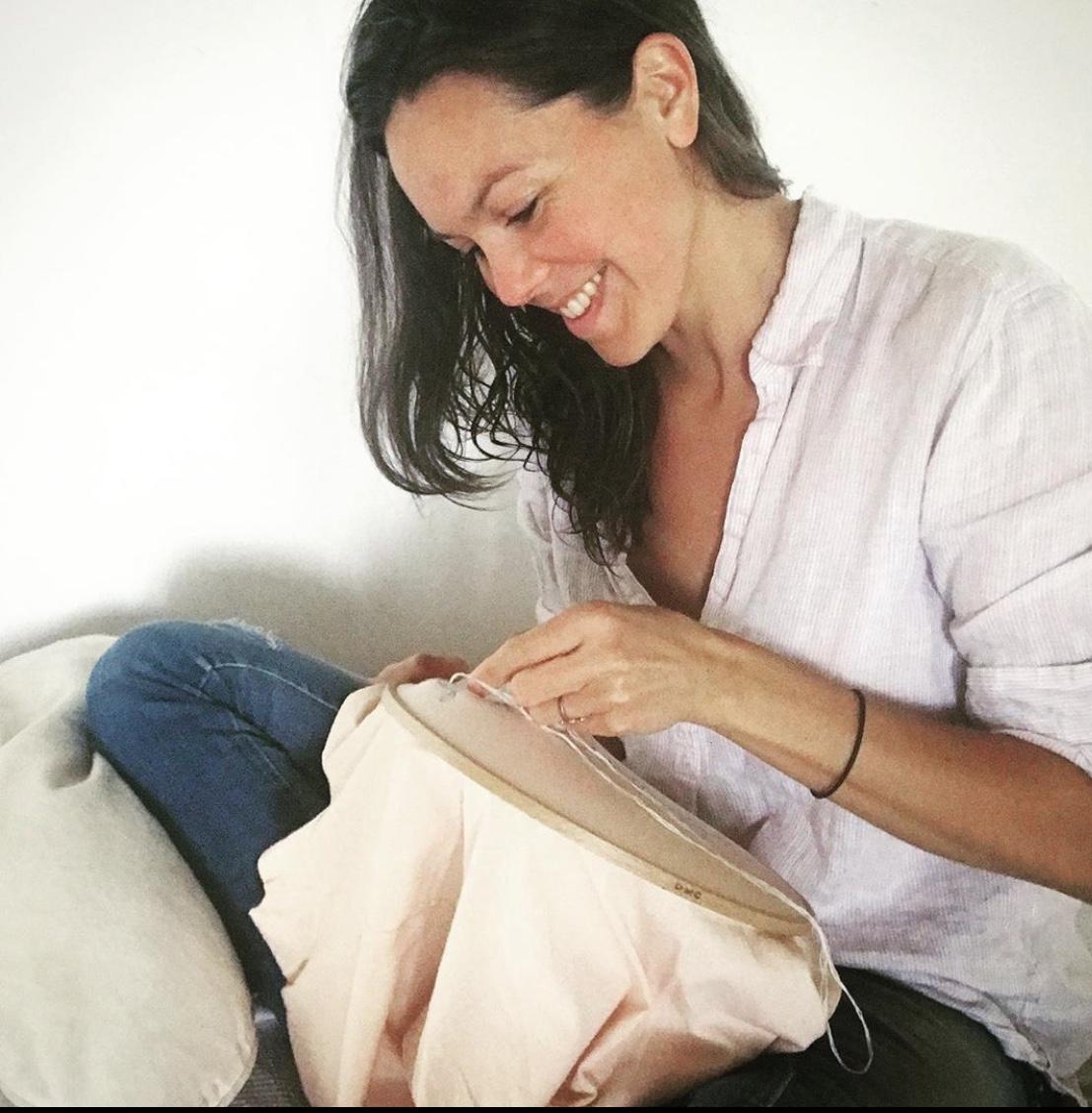 Portrait de Stéphanie, fondatrice de la marque éthique «Lovely Green»
