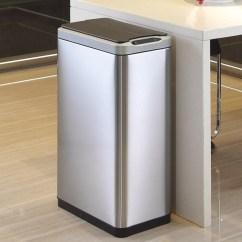 Tall Kitchen Bin Designer Narrow Phantom Series Sensorbin 40l