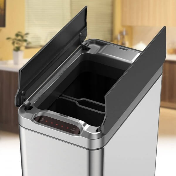 Narrow Kitchen Bin  Phantom Series  Sensorbin