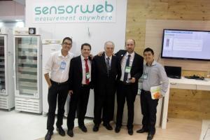 sensorweb na feira hospitalar 2014