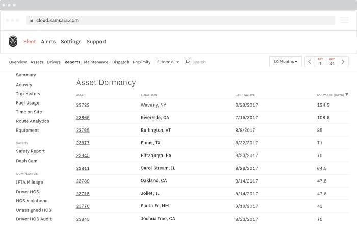 Asset Dormancy Report
