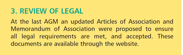 SensorNet2010May_AGMAdoption of Articles 2009