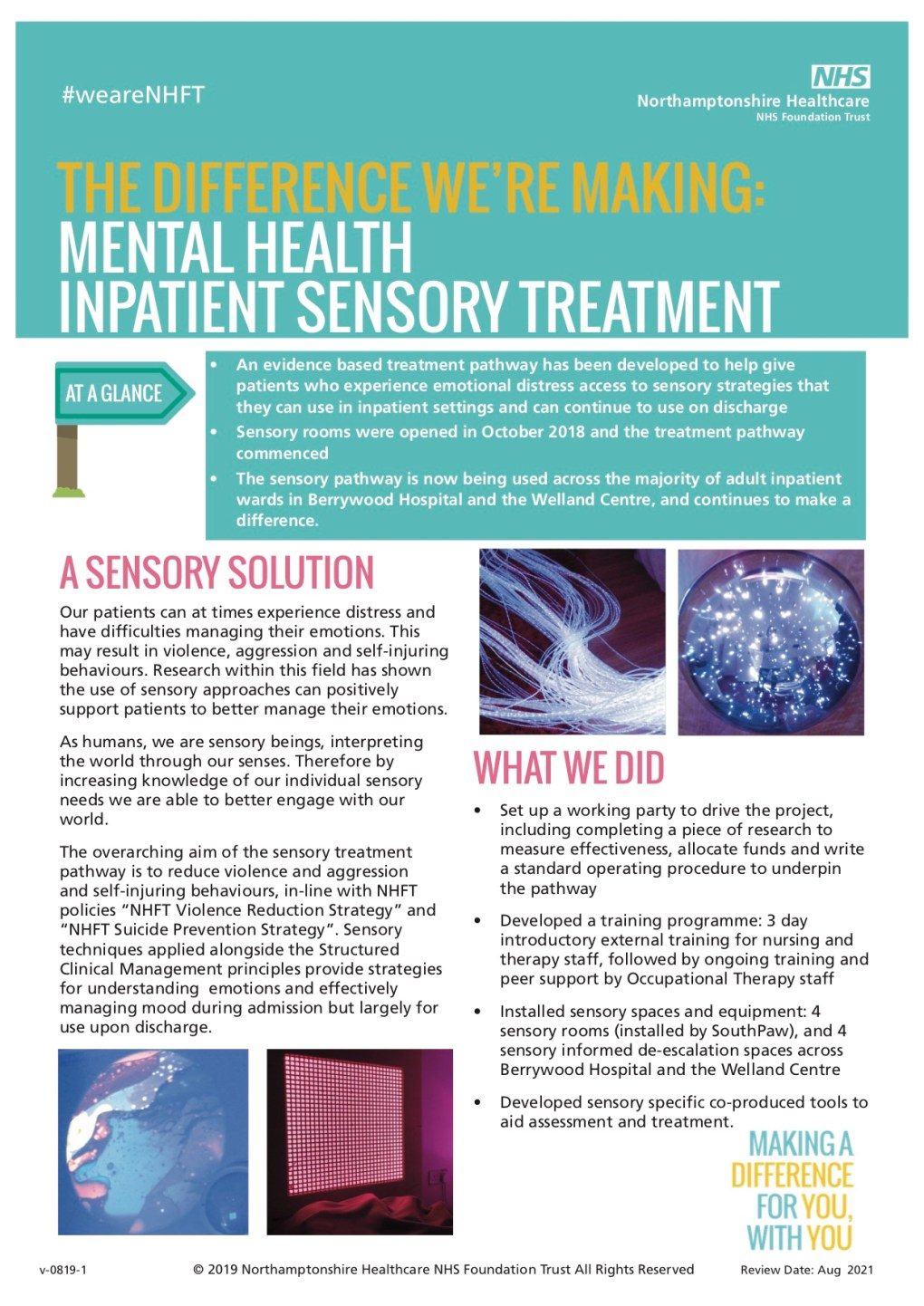The-Difference-Were-Making-Sensory-Room NFHT page 1