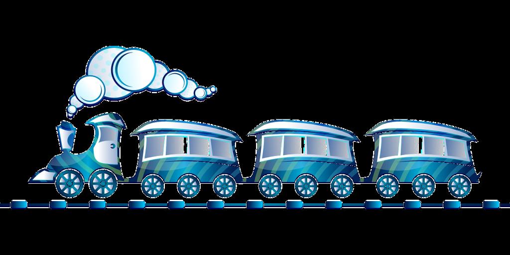 toy train, blue, locomotive