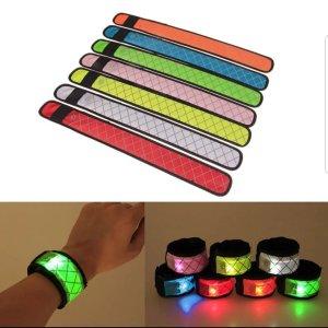LED slap band