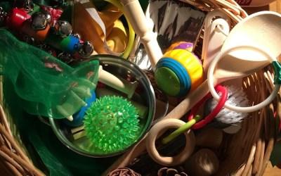 Heuristic Play – Treasure Baskets