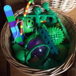 Bespoke Sensory Packs, Green