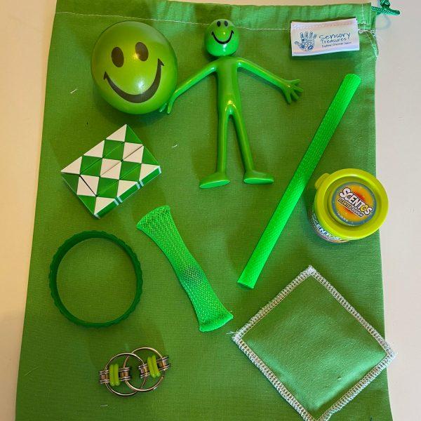 Green Fidget Pack