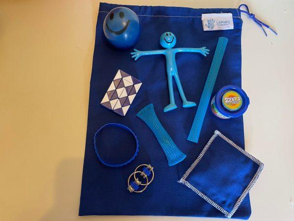 Blue Fidget Pack