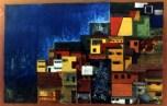 cityscape 1, oil on canvas