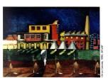 cityscape 2, oil on canvas
