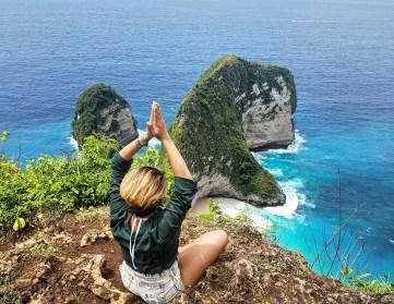 Spectacular views at Nusa Perida