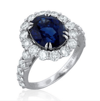 Inula Sapphire Ring