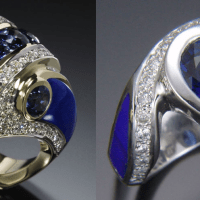The Elusive Search For Vintage Estate Sapphire and Diamond Rings