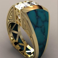 Indian Princess 18k Yellow Gold Ladies Ring