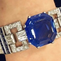 Gorgeous Sapphire and Diamond Bracelet