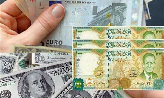sensyria - العملة السورية والدولار