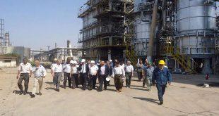 sensyria - وزير النفط في حمص