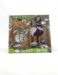 purple tomatillo seed packet