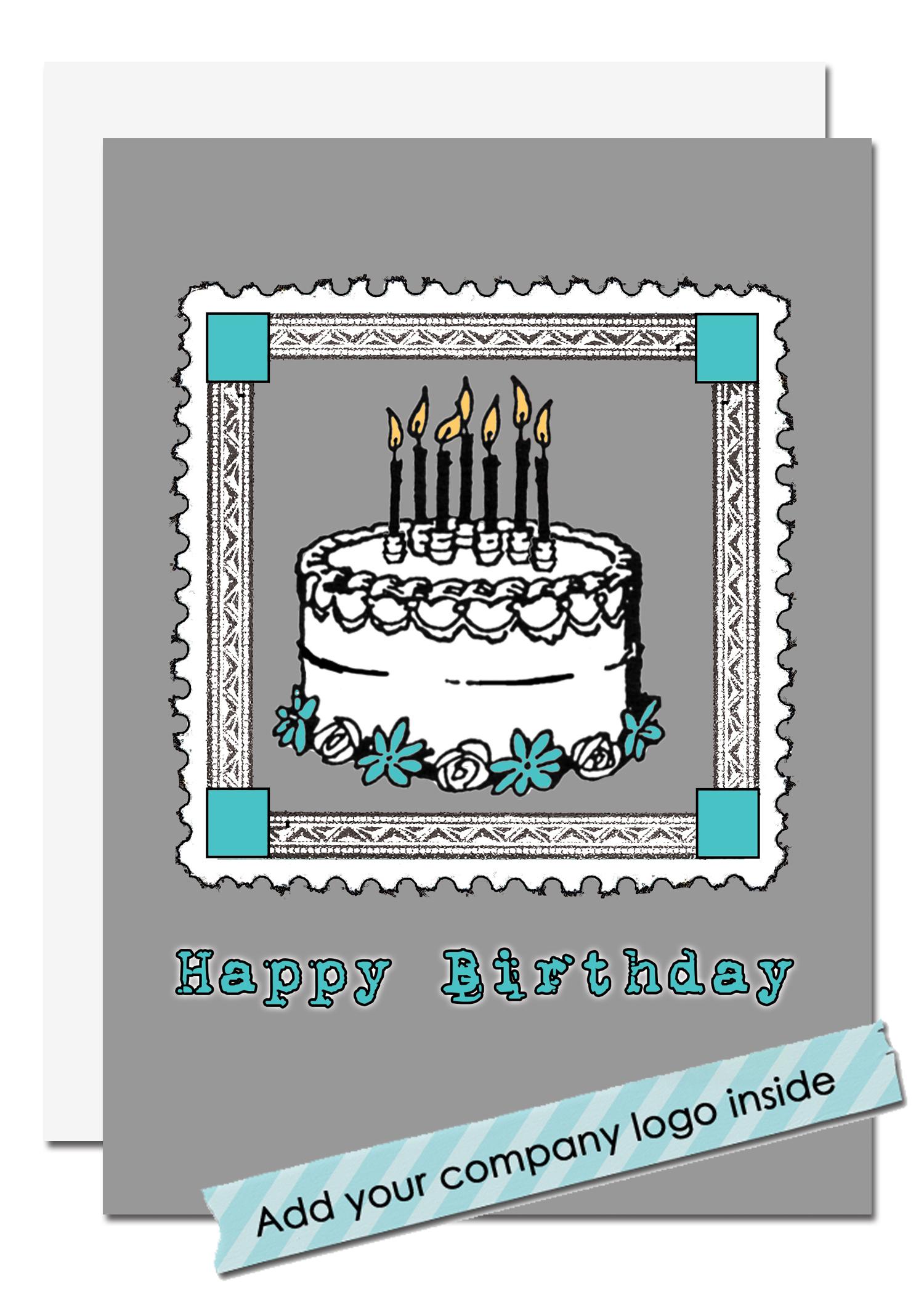 Corporate Birthday Card Sent Well