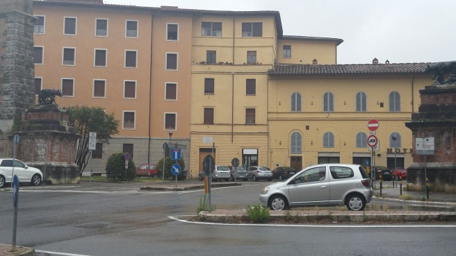 Siena 13 Main traffic entrance