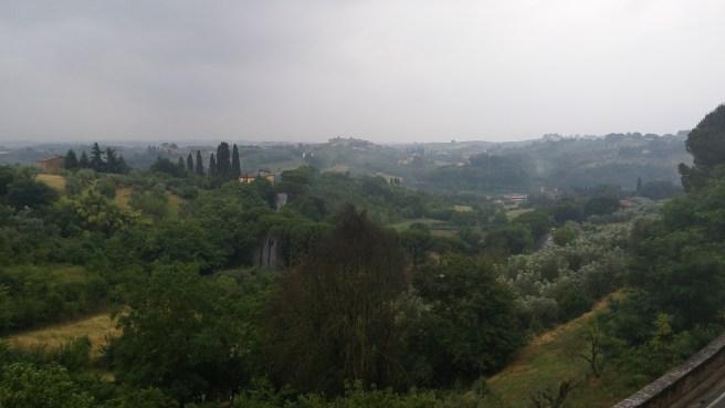 View to the southeast near Porta San Marco