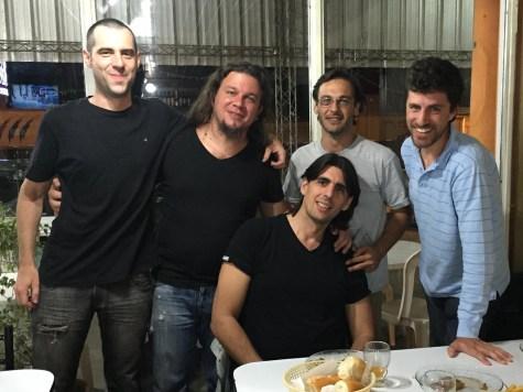 Maxi Artola, Nico Stivaktas, Esteba Urús, Indalecio Sabbioni, Gabriel Zabala