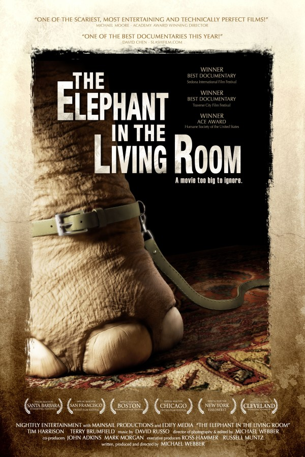 Elephant In Living Room Opens Friday 1 Week