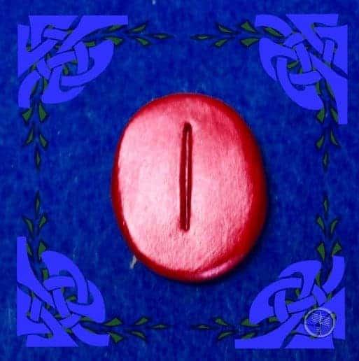 Isa Rune Stone Meaning