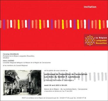 """Invitation à l'Exposition """"Passion Patrimoine à Tournissan"""""""
