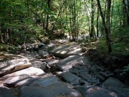 Le pozze e le marmitte del torrente