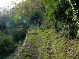 Il sentiero verso Raggiolo