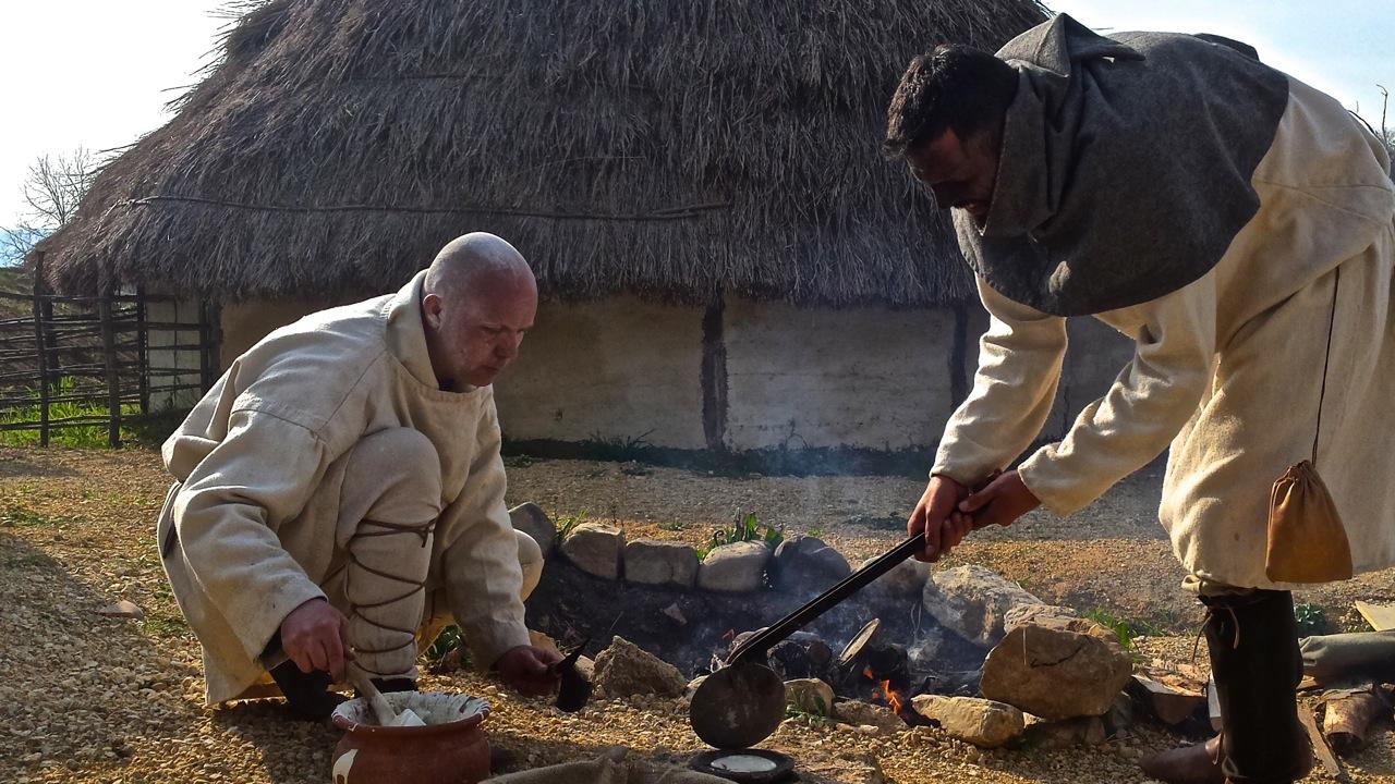 Archeodromo di Poggibonsi: arrivo al villaggio al tempo di Carlo Magno