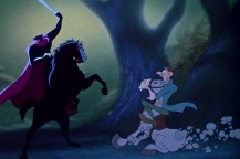 "Un fotogramma da ""La leggenda di Sleepy Hollow"" della Disney (1949)"
