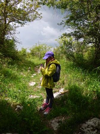 Sul sentiero verso Monte Labbro