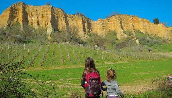 Guglie e pinnacoli come nei canyons: le Balze del Valdarno