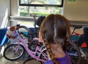 In treno con le bici