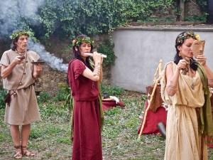 Al Museo di Bibbiena hanno organizzato un incontro con i Synaulia, gruppo musicale specializzato in musica antica