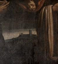 In un dipinto del seicento, il castello sembra essere già abbandonato
