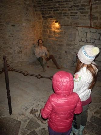 Le prigioni del castello di Poppi