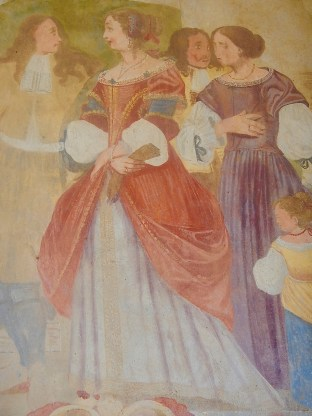 Santa Maria del Sasso: dame e gentiluomini del 1600