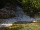 Le spiaggette lungo il torrente