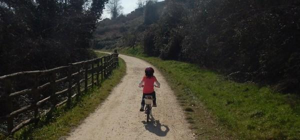 La ciclabile del trenino Poggibonsi-Colle Val d'Elsa
