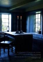 Motiv fra den blå stue i Kulturhaven - foto: Espen Grønlie