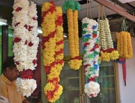 Penang - Little India - floral work