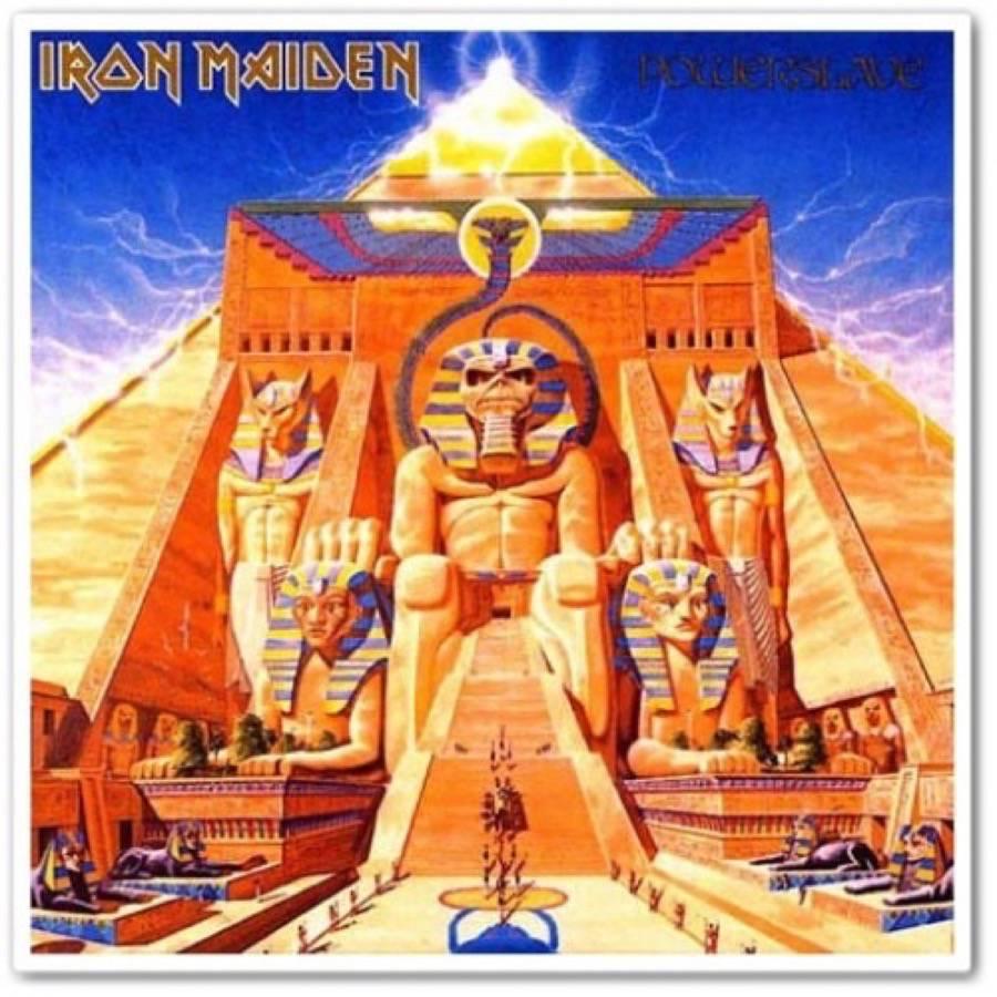 Iron Maiden  Powerslave  Album acquista  SENTIREASCOLTARE