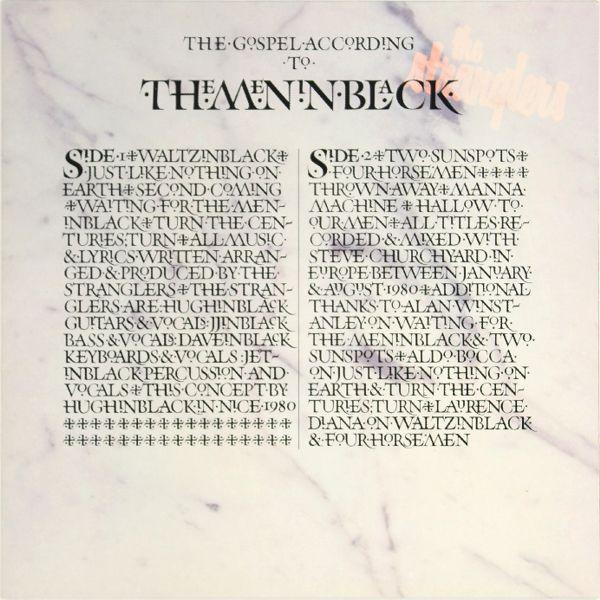 The Stranglers  The Gospel According to the Meninblack