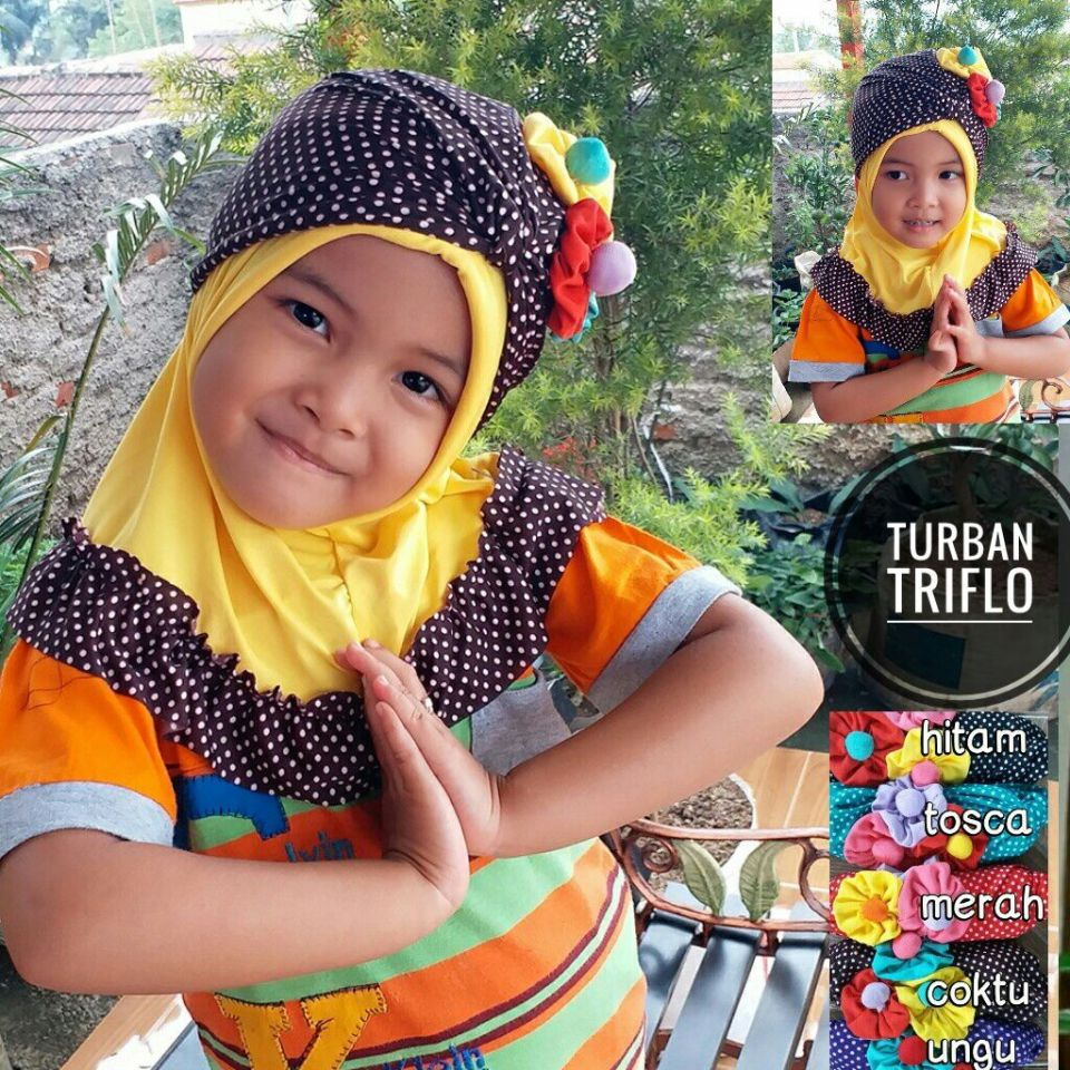 Turban Flow hat SG Jilbab